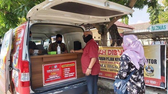 Samsat Keliling Kota Tegal Hari Ini Buka di Kecamatan Margadana dan 5 Tempat Lain