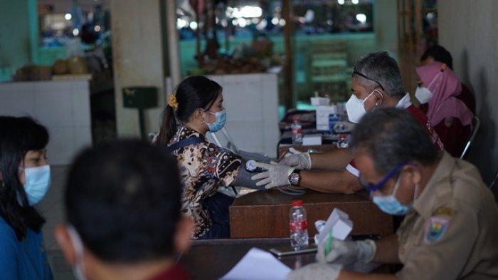 Disperindagkop Batang Target 300 Pedagang Tervaksin per Hari