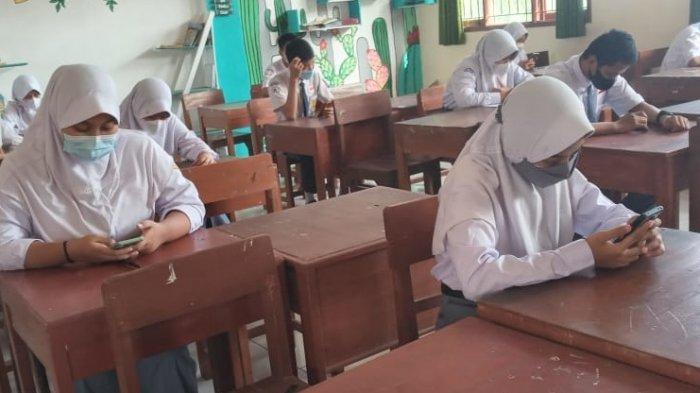 Beberapa SMA di Kabupaten Batang Mulai Lakukan Simulasi PTM Terbatas