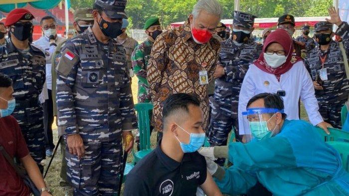 TNI AL Siagakan 395 Nakes untuk Serbuan Vaksin di Kabupaten Tegal, Ini Kata Panglima Koarmada ll