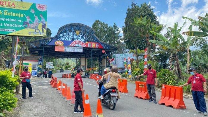 Hari Pertama Pembukaan Objek Wisata Guci Sepi Pengunjung, Wisatawan Hanya 10 Persen dari Kuota