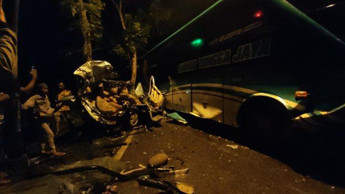Update Kecelakaan Maut di Sokaraja Banyumas, Diduga Bus Melaju Kencang