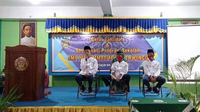 Di Tengah Pandemi, SMP Muhammadiyah 3 Kaliwungu Tetap Gelar Program Tahfidz Alquran