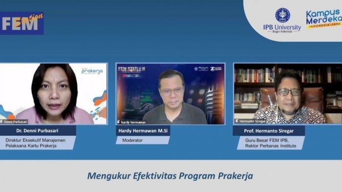 Guru Besar IPB Sebut Kartu Prakerja Terbukti Bermanfaat, Hermanto: Harus Lepas dari Intrik Politik