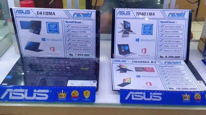 Berikut Ini Deretan Spesifikasi dan Harga Laptop Asus di Bulan April 2021
