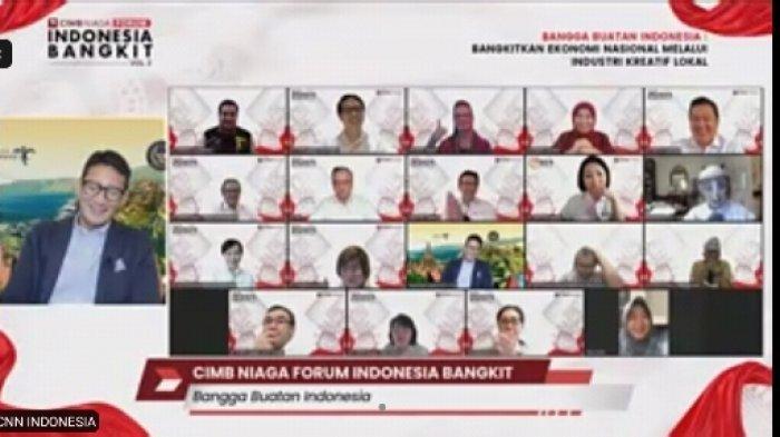 Di Forum Indonesia Bangkit, CIMB Niaga Ajak Warga Bangga Pakai Buatan Indonesia