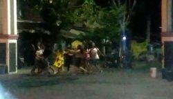 Gadis-gadis Tawuran di Berok Semarang Karena Memperebutkan Pria