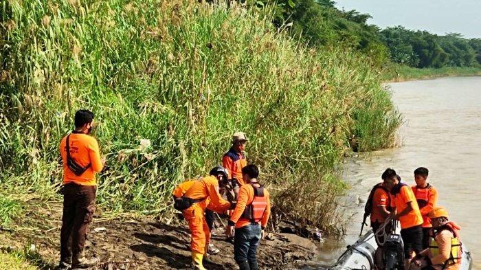 Tim Gabungan Perluas Area Penyisiran Pencarian Siswi Tenggelam di Sungai Comal Pemalang