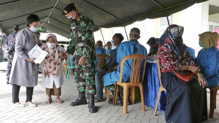 30.000 Dosis Serbuan Vaksin TNI AL di Kabupaten Tegal, Dinkes Beber Jumlah Pendaftar Saat Ini