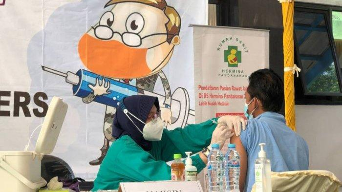 RSU Hermina Pandanaran Laksanakan Vaksin Gotong Royong, 72 Karyawan Perusahaan Ini Divaksinasi