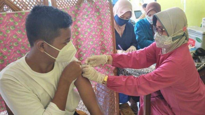 72 Orang dari 74 Calon Paskibraka Batang Jalani Vaksinasi Covid-19, Rheza: Suntik Dosis Pertama