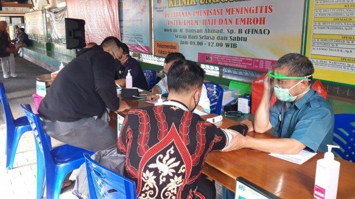 Pegadaian Gelar Vaksinasi bagi Pegawai Industri Jasa Keuangan di Wonosobo
