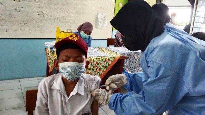 Vaksinasi Covid-19 di Tegal Mulai Sasar Siswa SD dan Sederajat, Begini Keterangan Disdikbud