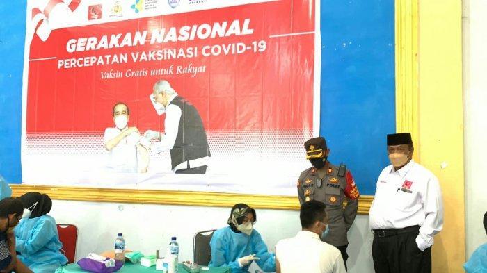 Percepatan Vaksinasi Covid-19 Terus Digencarkan di Kabupaten Tegal