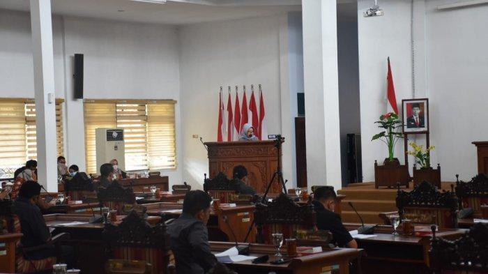 Ini Catatan Penyampaian Umum Fraksi Terhadap Raperda PJP APBD Kabupaten Pekalongan Tahun 2020