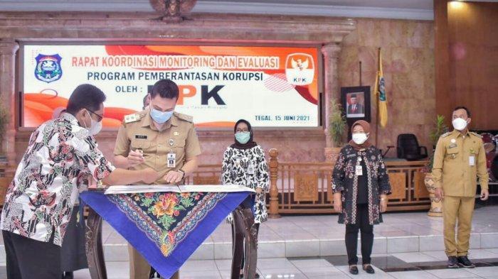 KPK Apresiasi Perbaikan Tata Kelola Pemerintahan di Pemkab Tegal