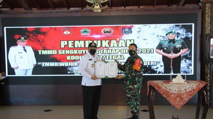 Pembangunan Saluran Air Jadi Fokus Program TMMD Sengkuyung Tahap III di Kota Tegal