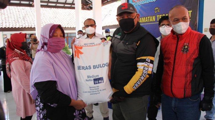 18.114 Kepala Keluarga di Kota Tegal Dapat Bantuan Beras PPKM Darurat