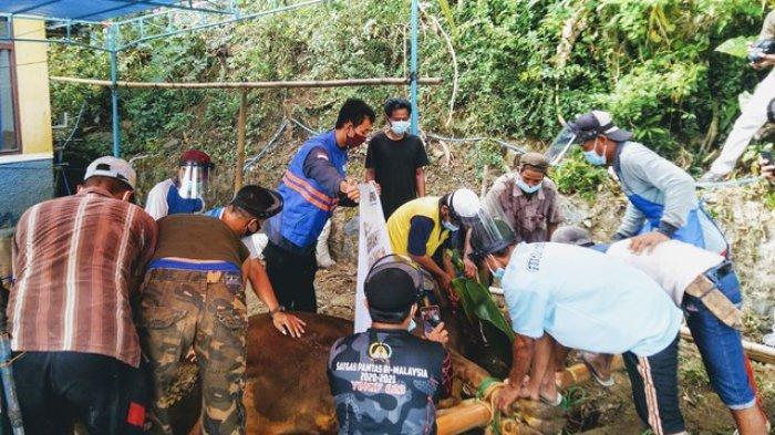 Warga Dusun Jengkol Limbangan Kendal Bahagia Akhirnya Bisa Merasakan Daging Sapi