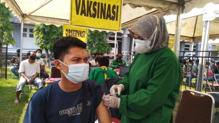 Capaian Vaksinasi Covid-19 di Kota Pekalongan, Dosis Satu 21,4% dan Dosis Dua 11,21%