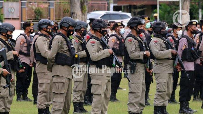 Polda Papua Barat Gelar Apel Gabungan Atasi Gangguan