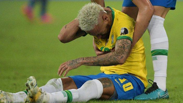 COPA AMERICA 2021 - Penyerang timnas Brasil, Neymar