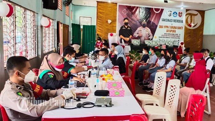 Kasus Kumulatif Positif Covid-19 di Jayapura Capai 12.794