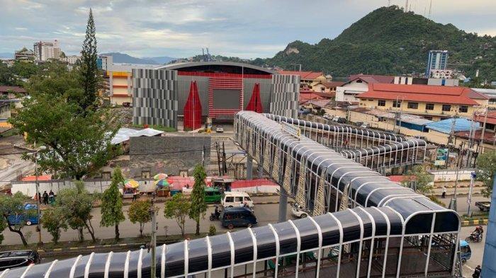 Venue Sasana Tinju PON XX Papua 97% Rampung, Kontraktor Garap Taman GOR Cenderwasih