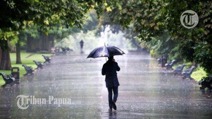 Hari Ini Potensi Hujan Lokal di Kota Jayapura dan Kabupaten Keerom Papua