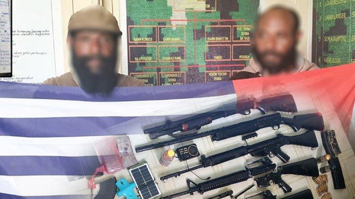2 KKB Papua Diringkus Beserta 5 Senjata Api di Oksibil, Pegunungan Bintang Papua