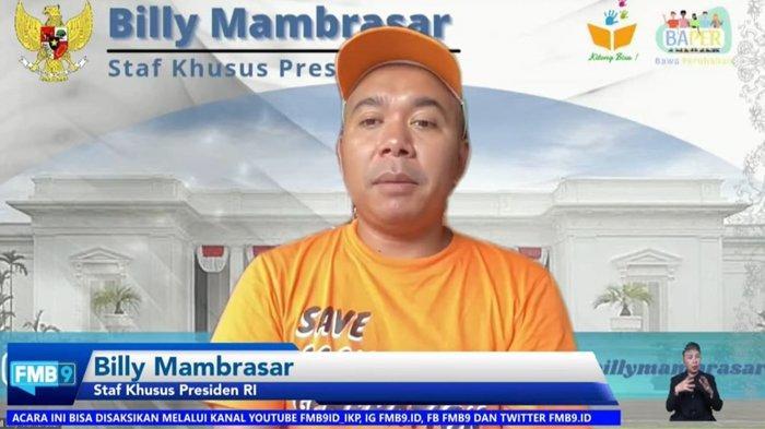Stafsus Presiden Billy Mambrasar: Jokowi Masih Prioritaskan Papua