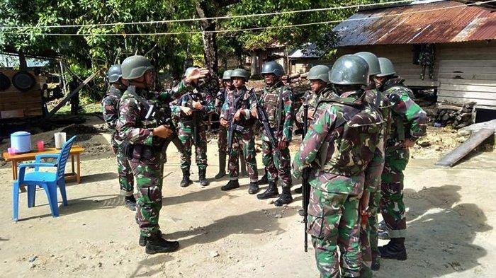 Kontak Tembak antara TNI dan KNPB di Dalam Hutan Papua Barat