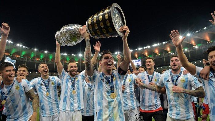 Messi Akhirnya Juara bareng Argentina!