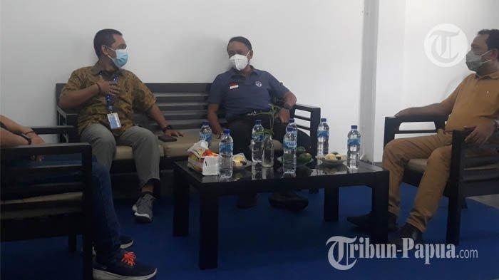 BREAKING NEWS: Menpora Zainudin Amali Bertandang ke Kantor Tribun Papua