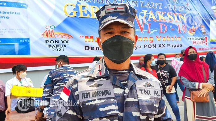 Peduli Masyarakat Papua, TNI AL Gelar Vaksinasi Massal, 2.500 Orang Ditargetkan Tervaksin