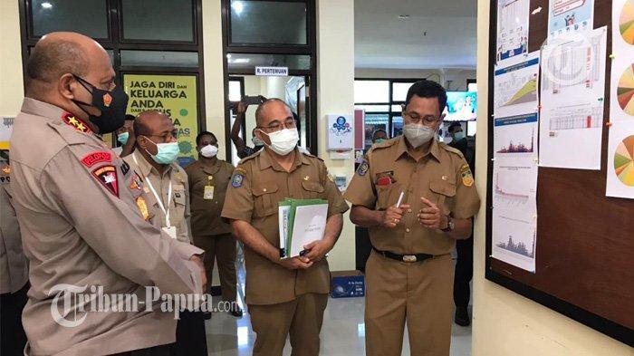 Kasus Kumulatif Covid-19 Capai 12.878 Orang di Kota Jayapura, Waropen hanya 1 Orang