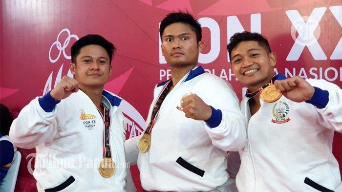 Sapu Bersih Kata Beregu, Sulawesi Selatan Kuasai Cabor Karate PON XX Papua