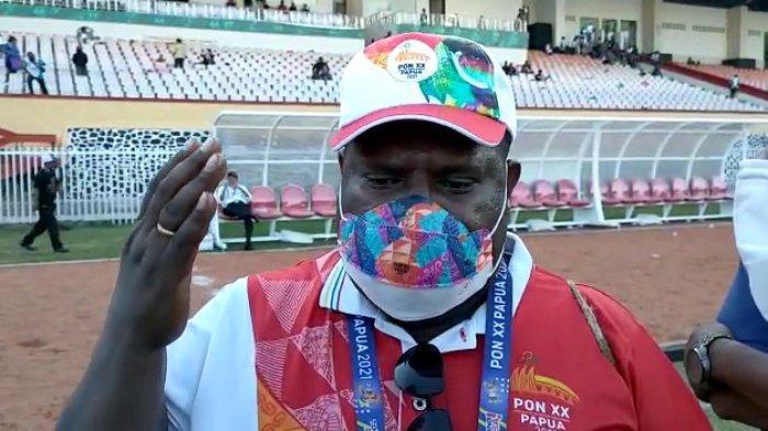 Sekretaris Umum Komite Olahraga Nasional Indonesia (KONI) Provinsi Papua, Kenius Kogoya.