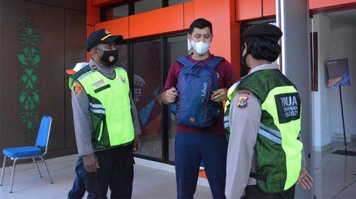 Puluhan Personel Lakukan Pengamanan di Cabor Karate