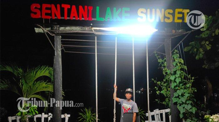 Nikmati Sunset dari Kafe SLS di Batas Kota dan Kabupaten Jayapura