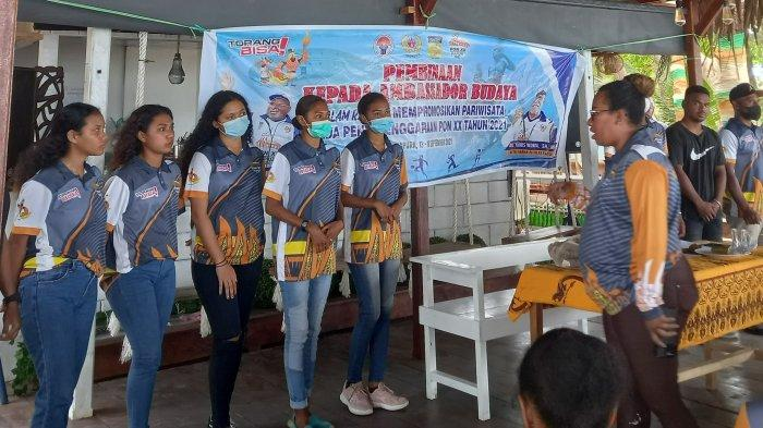 Hari ke 2 Pembekalan Ambassador Budaya, 14  Relawan Ditunjuk Sambut Atlet di Bandara