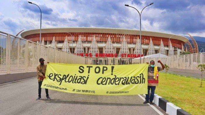 Aktivis Kembali Gaungkan Save Cenderawasih Jelang PON XX Papua