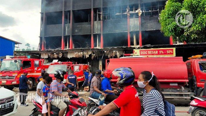 Kebakaran Ruko di Jalan Baru Pasar Lama Youtefa, Seorang Ibu dan Dua Anaknya Meninggal