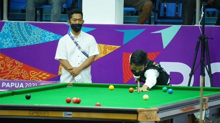 Pebiliar Muda Papua Kantongi Tiket Final Kelas Snooker Six Reds Single