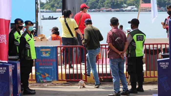 Final Cabor Selam Laut, Personel Keamanan Antisipasi Barang Berbahaya