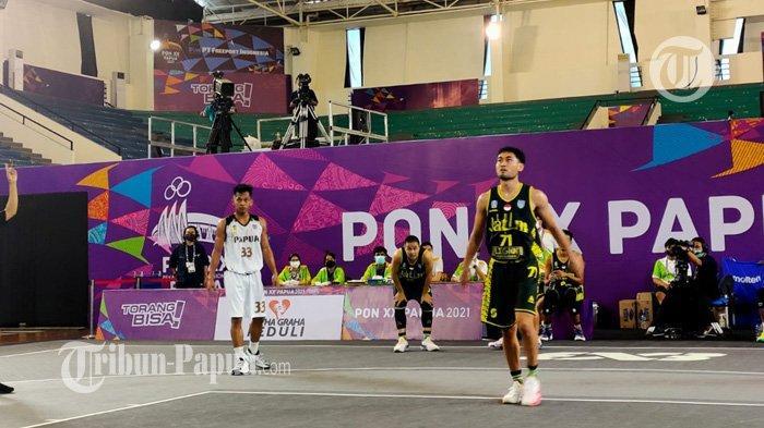 Papua Kubur Impian Raih Medali Emas, Jatim Melaju ke Semifinal Basket 3x3