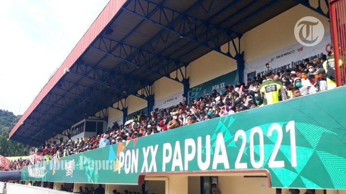 Antusias Penonton Membludak di Final PON Papua Vs Aceh di Stadion Mandala: Kami Rindu Sepak Bola
