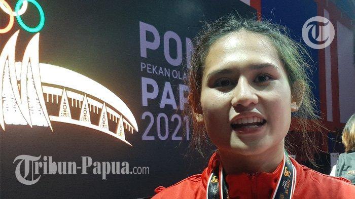 Baru Tampil di PON, Karateka Cantik Asal DKI Jakarta Bangga Sumbangkan Dua Medali Emas