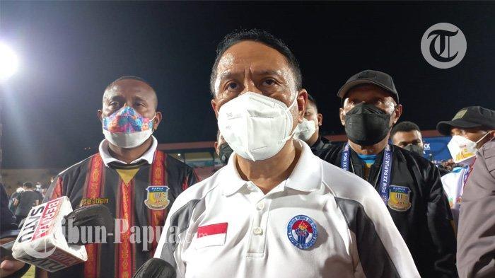 Usai Saksikan Final Sepabola PON XX Papua: Menpora Harap Pemain di PON Masuk Timnas Indonesia