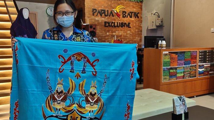 Sambut PON XX 2021, Aneka Batik Papua Exclusive Luncurkan Model Maskot Kangpho dan Drawa